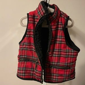Copper Key Jackets & Coats - Girls Christmas vest